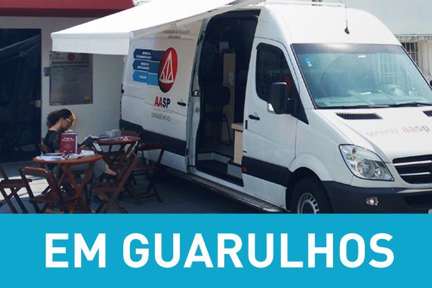 Unidade Móvel leva os serviços da AASP a Guarulhos