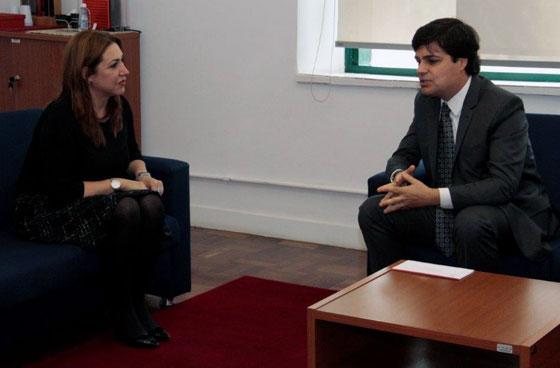 Juíza Anna Paula Dias Costa e Leonardo Sica.