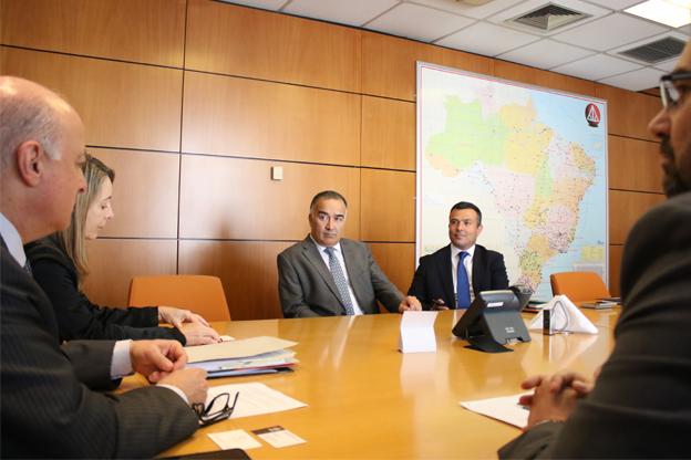 AASP recebe visita de Cônsul da Turquia