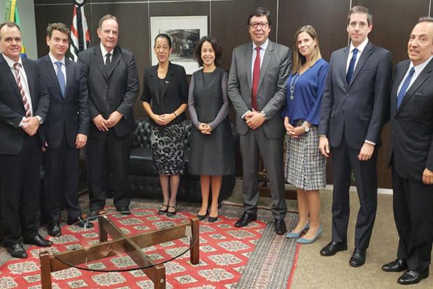 Presidente e corregedor regional do TRT-2 recebem dirigentes da AASP