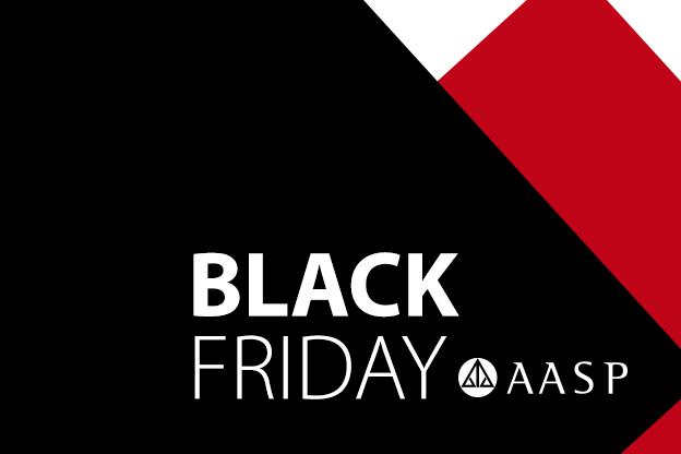 Black Friday AASP: descontos de até 60%!