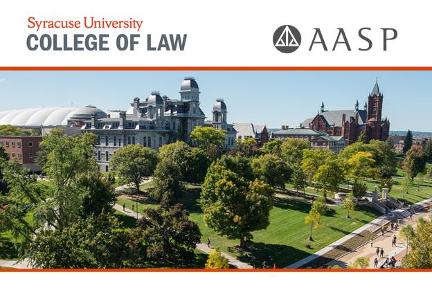 Syracuse University e AASP firmam parceria para programa de LL.M. nos Estados Unidos