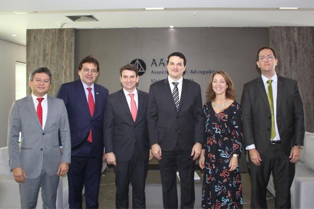 AASP recebe diretores da OAB do Piauí