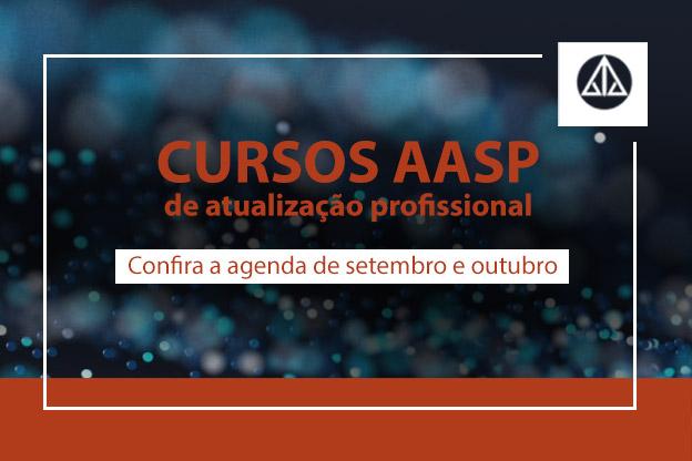 Cursos AASP: programe o seu futuro!