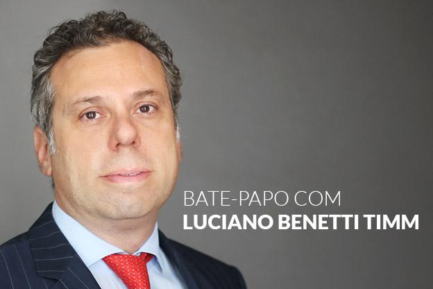 Bate-papo com Luciano Benetti Timm sobre Direito e economia