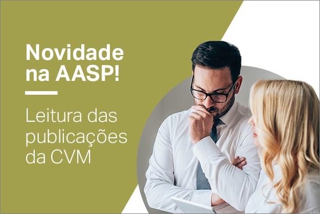 Novidade na AASP! Leitura das publicações da CVM