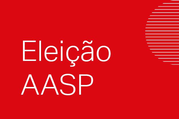 Venha votar na AASP com segurança