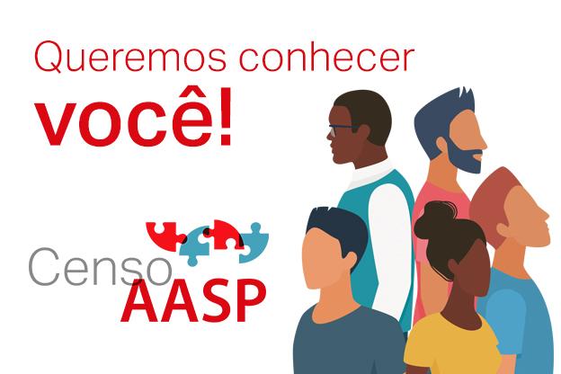 Censo AASP: queremos conhecer você!